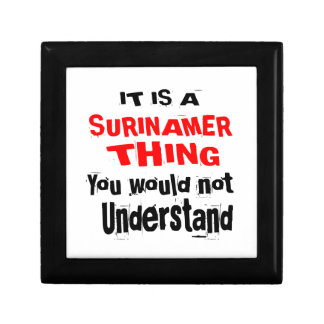 IT IS SURINAMER THING DESIGNS GIFT BOX