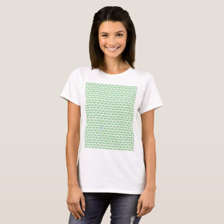 It is surrounded by enemies ON all sides. Green T-Shirt