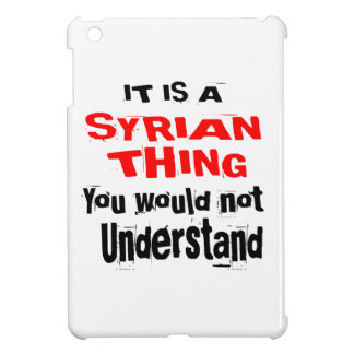 IT IS SYRIAN THING DESIGNS COVER FOR THE iPad MINI