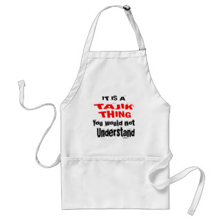 IT IS TAJIK THING DESIGNS STANDARD APRON