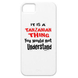IT IS TANZANIAN THING DESIGNS iPhone 5 CASES