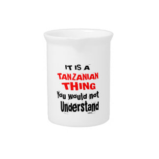IT IS TANZANIAN THING DESIGNS PITCHER