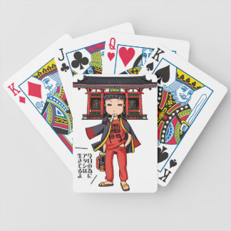 It is the celebration, it is shallow! English Bicycle Playing Cards