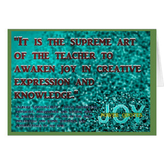 """""""It is the supreme... Card"""