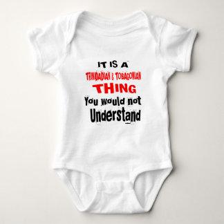 IT IS TRINIDADIAN & TOBAGONIAN THING DESIGNS BABY BODYSUIT