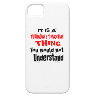 IT IS TRINIDADIAN & TOBAGONIAN THING DESIGNS iPhone 5 COVER
