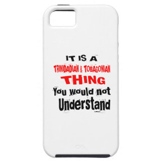 IT IS TRINIDADIAN & TOBAGONIAN THING DESIGNS iPhone 5 COVERS