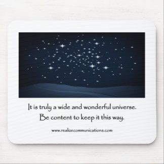 It is Truly a Wide and Wonderful MOUSE PAD