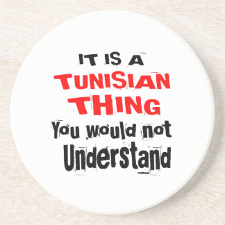 IT IS TUNISIAN THING DESIGNS COASTER