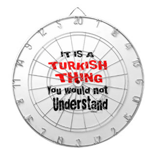 IT IS TURKISH THING DESIGNS DARTBOARD