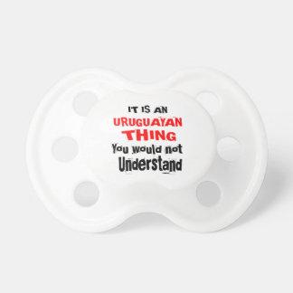 IT IS URUGUAYAN THING DESIGNS DUMMY