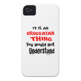 IT IS URUGUAYAN THING DESIGNS iPhone 4 Case-Mate CASE
