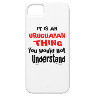 IT IS URUGUAYAN THING DESIGNS iPhone 5 COVER