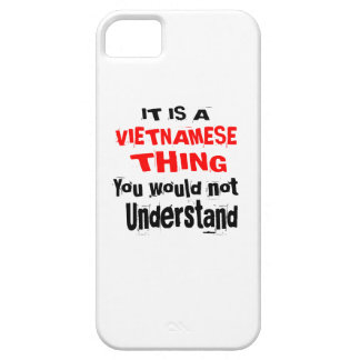 IT IS VIETNAMESE THING DESIGNS BARELY THERE iPhone 5 CASE