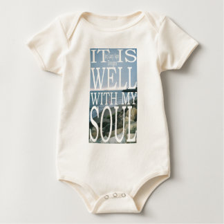 It Is Well Baby Bodysuit