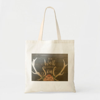 It is well with my soul bag