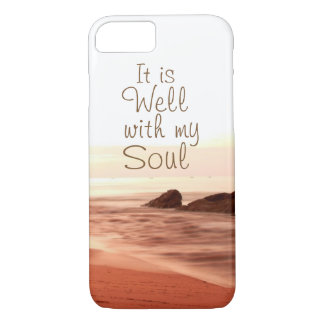 It is Well With My Soul, Beloved Hymn iPhone 8/7 Case