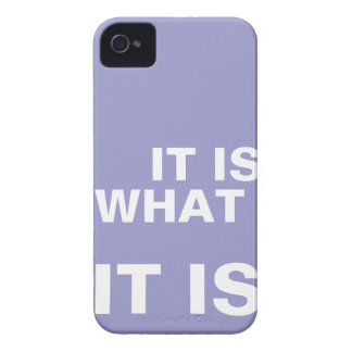 It is What it is iphone covers