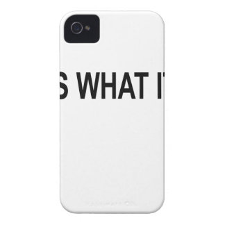 IT IS WHAT IT IS.png Case-Mate iPhone 4 Cases