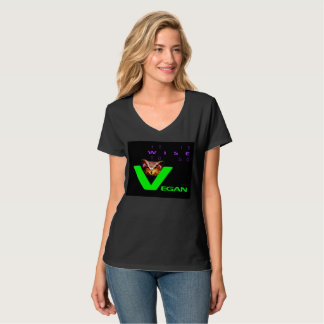 IT IS WISE TO GO VEGAN. T-SHIRT. T-Shirt