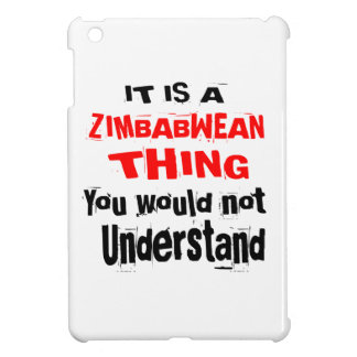 IT IS ZIMBABWEAN THING DESIGNS COVER FOR THE iPad MINI