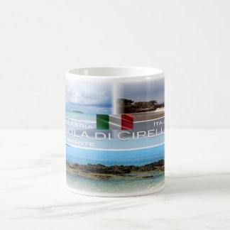 IT Italia - Calabria - Diamante e Isola di Cirella Coffee Mug