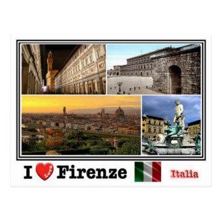 IT Italia - Firenze - mosaic - Postcard
