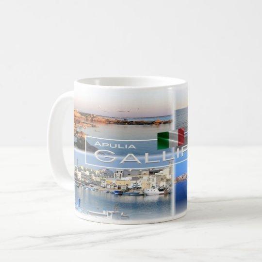 IT Italy - Apulia - Gallipoli - Salento - Coffee Mug
