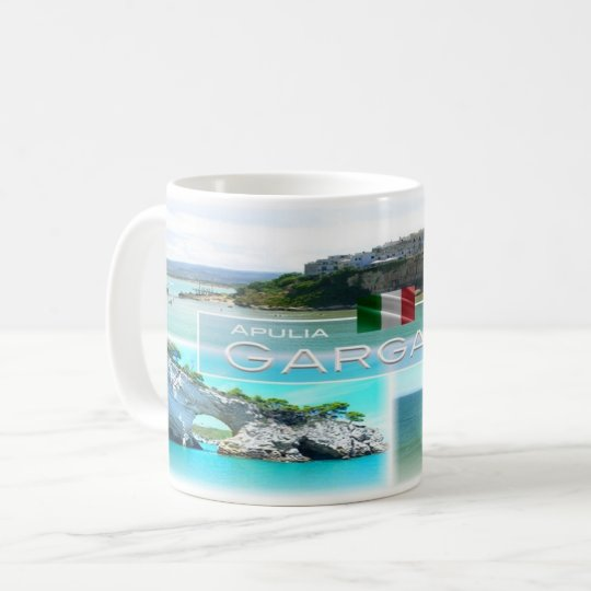 IT Italy - Apulia - Gargano - Vieste - Coffee Mug