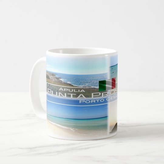 IT Italy - Apulia - Punta Prosciutto - Coffee Mug