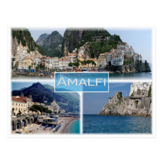 IT Italy - Campania - Amalfi - Postcard