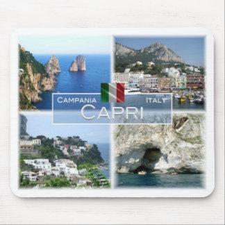 IT Italy - Campania - Capri - I Faraglioni - Mouse Pad