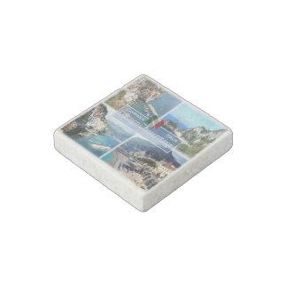 IT Italy - Campania - Costiera Amalfitana - Stone Magnet