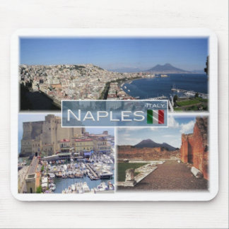 IT Italy - Campania - Naples - Mouse Pad