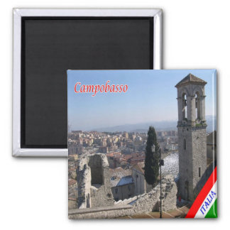 IT - Italy - Campobasso Bell Tower San Bartolomeo Magnet