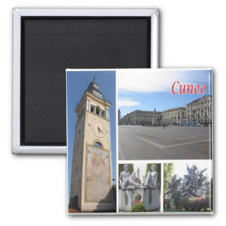 IT - Italy - Cuneo - Collage Mosaic Magnet