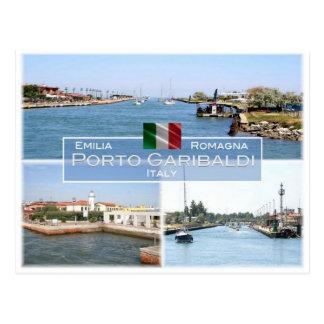 IT Italy - Emilia Romagna - Porto Garibaldi - Postcard