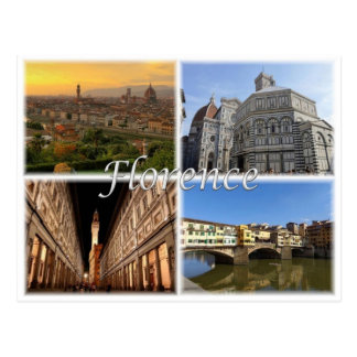 IT Italy - Florence Firenze - Postcard