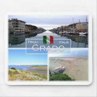 IT Italy - Friuli Venezia Giulia - Grado - Mouse Pad