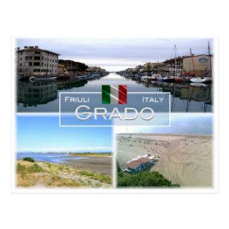 IT Italy - Friuli Venezia Giulia - Grado - Postcard