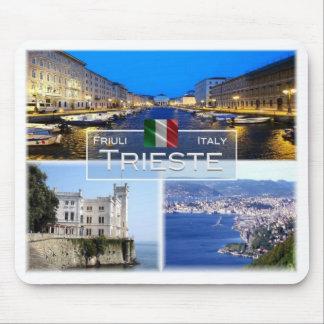IT Italy - Friuli Venezia Giulia - Trieste - Mouse Pad
