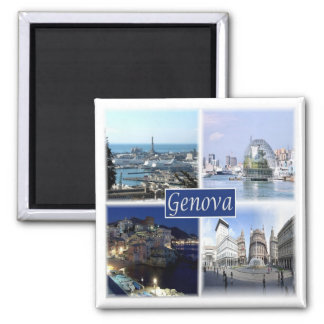 IT * Italy - Genova Genoa Magnet