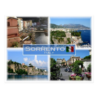 IT Italy - Italia - Sorrento - Amalfi Coast - Postcard
