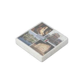 IT  Italy - Italia - Turin - Egyptian Museum - Stone Magnet