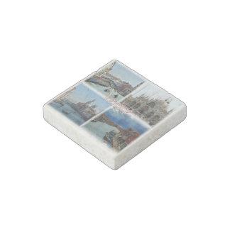 IT Italy - Italia - Venice - Gran Canal - Basilica Stone Magnet