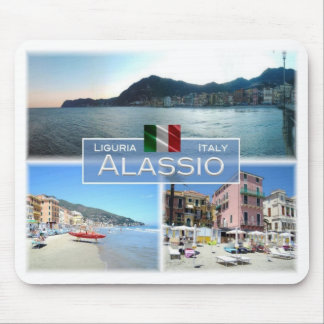 IT Italy - Liguria - Alassio - Mouse Pad