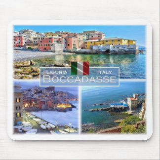 IT Italy - Liguria - Boccadasse - Mouse Pad