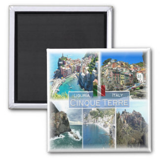 IT Italy # Liguria -   Cinque Terre - Magnet