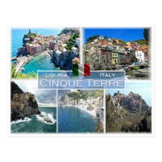 IT Italy - Liguria - Cinque Terre - Postcard