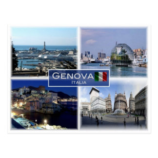 IT Italy - Liguria -  Genova Postcard